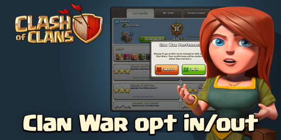 Clan War Opt Out