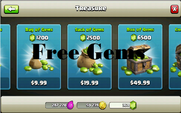 The Best Free Gems Clash Of Clans  PNG