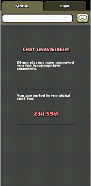Muted in Global