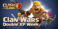 Art of War Event Clash of Clans Clan War Anniversary