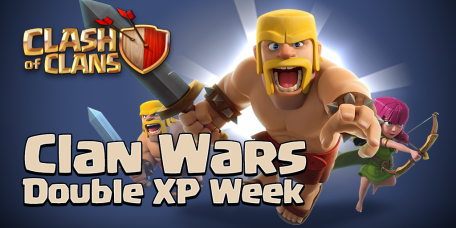 Double XP for Clan Wars