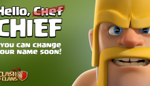 Name Change April Update Clash of Clans
