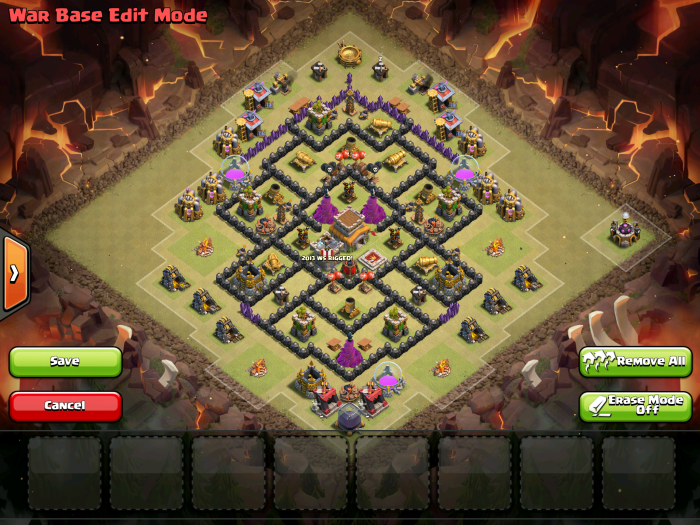 Air Sweeper TH7 War Base