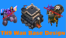 Best TH9 War Bases 2015 Air Sweeper