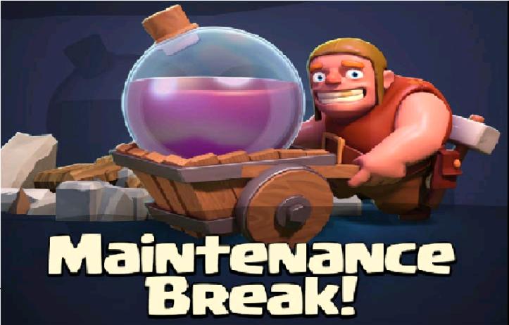 Clash of Clans Maintenance Break May 2015