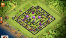 Clash of Clans Base Review Maxed TH8