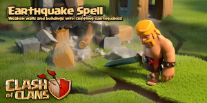 Earthquake Spell June 2015 Update Clash of Clans