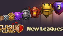 New League Clash of Clans June 2015 Update Titan Legend