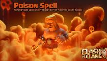 Poison Spell NEW Dark Spell Factory June 2015 Update Clash of Clans