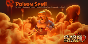 Poison Spell NEW Dark Spell Factory June 2015 Update Clash of Clans