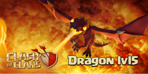 Dragon Level 5 Clash of Clans June Update 2015