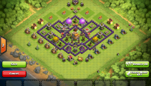 Town Hall 7 Pushing Trophy Base 2015