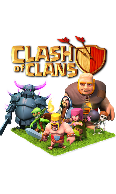Clash of Clans Wallpaper Background