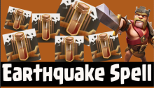 Clash of Clans Earthquake Spell Dark Spell Factory July 2015 Update