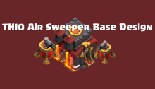 TH10 Air Sweeper Base Design