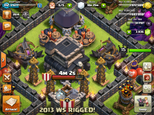 Clash of Clans Base Design Layouts 2015 Centralized Town Hall