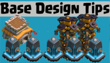 Clash of Clans Base Design Layout Tips 2015