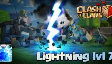 New Update 2015 Clash of Clans Lightning Spell level 7
