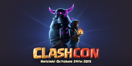 ClashCon Clash of Clans 2015 Update