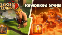 Clash of Clans New 2015 Update Reworked Spells