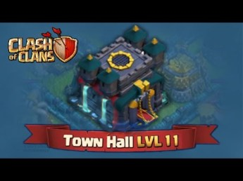 Town Hall 11 Clash of Clans ClashCon October 2015 Update