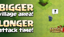 Bigger Map Longer Time Clash of Clans 2015