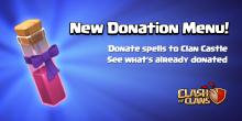 Donate Spells Clash of Clans Dark Spells