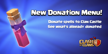 Donate Spells Clash of Clans Dark Spells