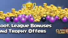 Loot, League Bonuses, and Trophy Offers