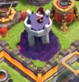 New Level 9 Wizard Tower Clash of Clans
