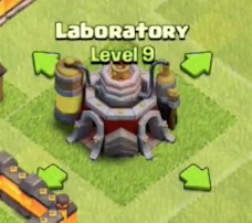 New Level 9 Laboratory Clash of Clans