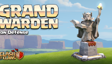 Grand Warden Defense Clash of Clans