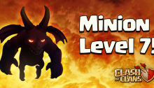 Minions Level 7 Clash of Clans