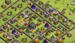 Town Hall 9 Freeze Spells Clash of Clans