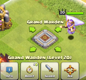 Grand Warden Air Mode Town Hall 11