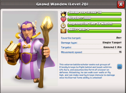 Grand Warden New Hero TH11