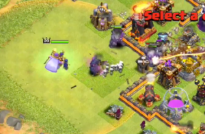 Grand Warden Attacking Town Hall 11