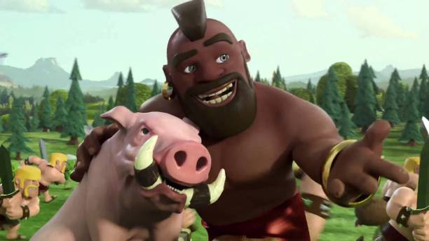 Hog Rider Clash of Clans