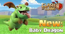 New Baby Dragon Clash of Clans