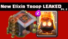 2nd Elixir Troop LEAKED Clash of Clans