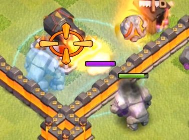 Clone Spell Over Walls Clash of Clans