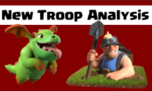 Clash of Clans Baby Dragon Miner