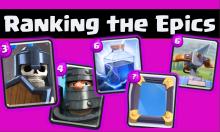 Clash Royale Best Epic Cards