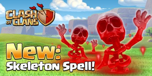 Skeleton Spell Clash of Clans