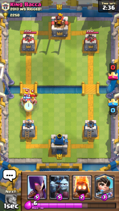 Clash Royale Barbarians and Valkyrie