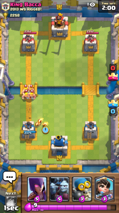 Clash Royale Barbarians and Fire Spirits