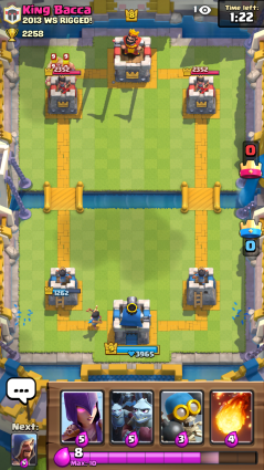 Clash Royale Barbarians and Princess