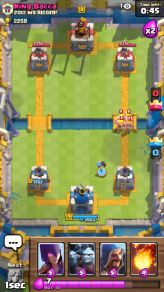 Clash Royale Barbarians and Bomber