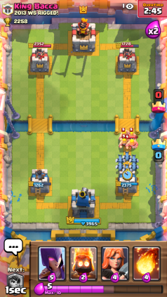 Clash Royale Barbarians and Minion Horde