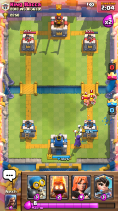 Clash Royale Barbarians and Witch